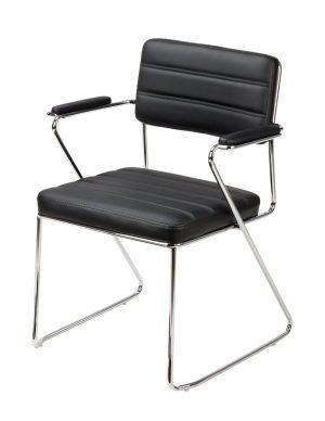 Krzesło do poczekalni z podłokietnikami